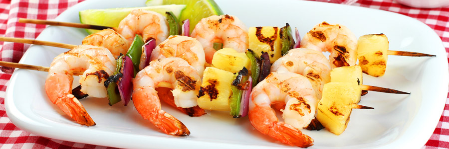 coconut-pineapple-shrimp-skewers