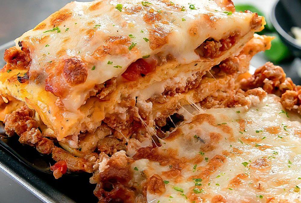 Easy Low Carb Lasagna